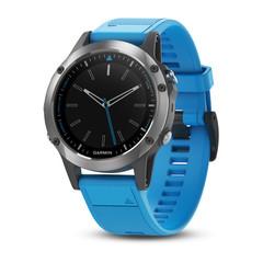Спортивные смарт часы Garmin Quatix 5 для морских путешествий и рыбалки 010-01688-40