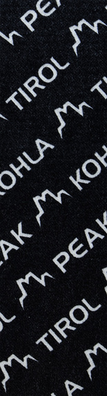 Камус Mohair Mix 135мм, Black