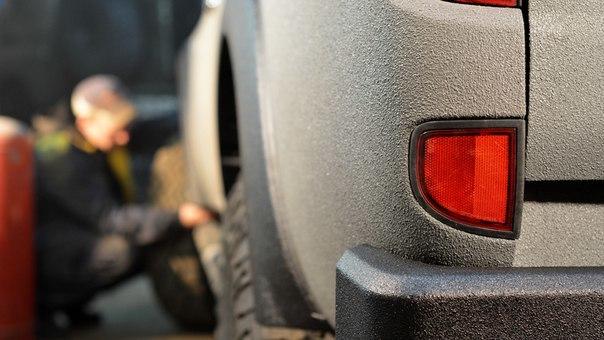 Покраска раптором автомобиля - защитное покрытие RAPTOR U-POL фото-7
