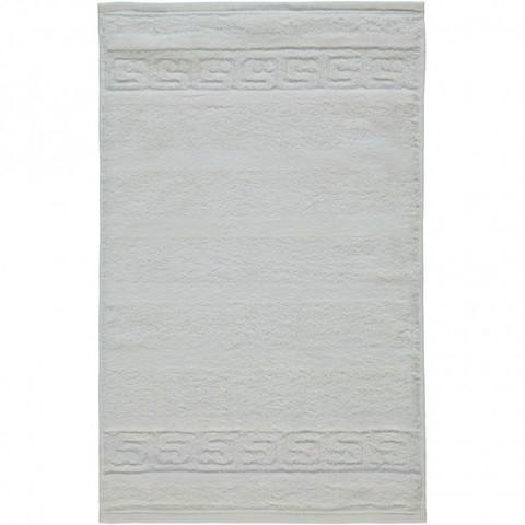 Полотенце 16х22 Cawo Noblesse 1001 белое