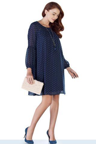 Платье 08945 синий
