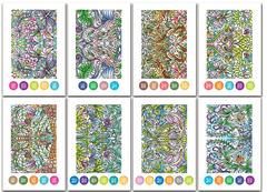 Раскраска-склейка Chameleon Mirror Images/ Зеркальные изображения