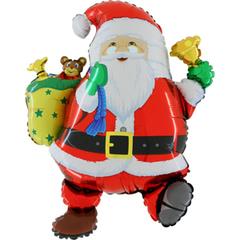 Г Забавный Дед Мороз, красный, 30