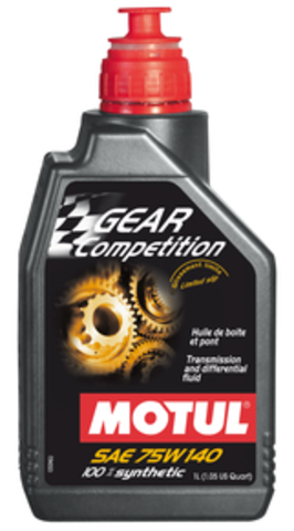 Gear Competition 75W140