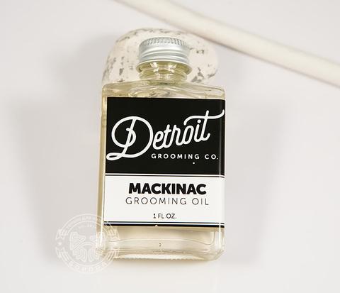 RAZ211-2 Масло для бороды DETROIT &#34MACKINAC&#34, аромат мяты и кедра