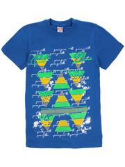 1180-2 футболка детская, синяя