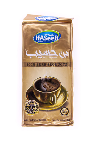 Арабский кофе Super Extra Cardamom, Haseeb, 200 г