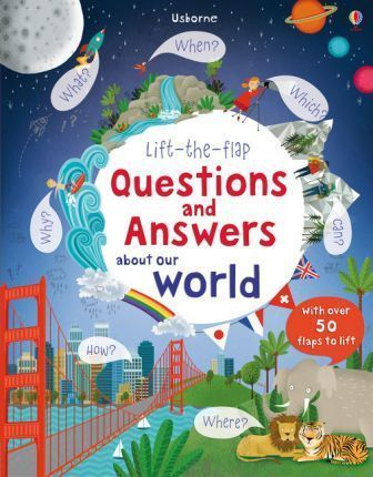 Kitab Lift The Flap Questions and Answers about our world   Katie Daynes