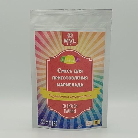 Смесь для приготовления мармелада вкус малина DIET BAKE, 150 гр