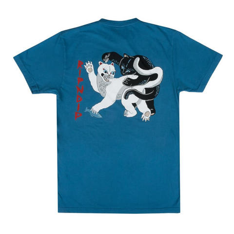 Футболка RIPNDIP Brawl (Harbor Blue)
