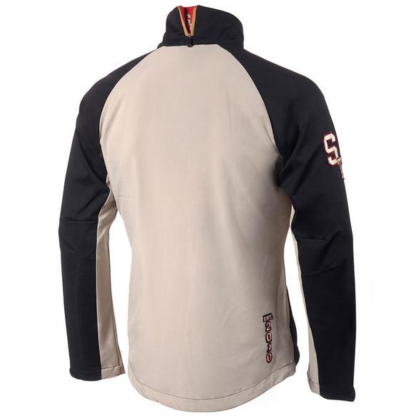 Женская лыжная куртка Stoneham Softshell (ST00000524) черно-белая фото