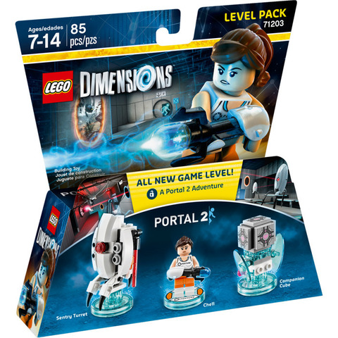 LEGO Dimensions: Level Pack: Portal 2 - Челл 71203 — Portal 2 Level Pack — Лего Измерения