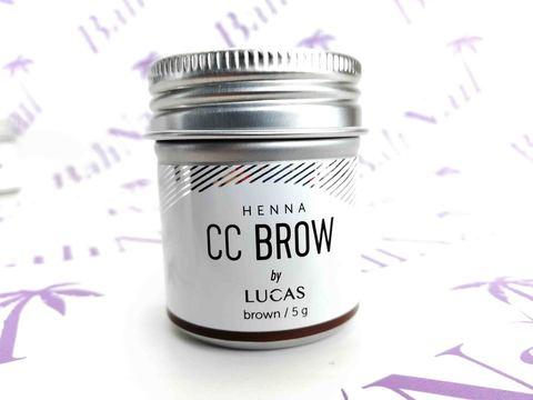 CC BROW, Хна для бровей CC Brow (brown) в баночке (коричневый), 5 гр