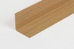 Угол отделочный из ПВХ 25х25мм для наружних углов бук светлый (2,7м) ( бук натуральный)