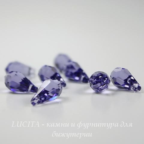 6000 Подвеска Сваровски Drop Tanzanite (11х5,5 мм)