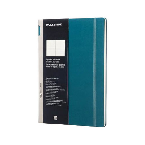 Блокнот Moleskine Workbook А4 Клетка Шалфей