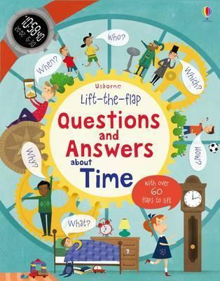 Kitab Lift-The-Flap Questions and Answers About Time   Katie Daynes