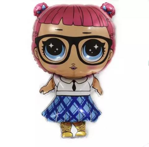 Фольгированная фигура Кукла Разумница