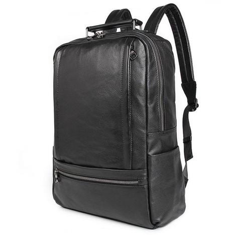 Мужской кожаный рюкзак JMD 7356