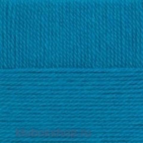 Пряжа Зимний вариант (Пехорка) 14 Морская волна - купить в интернет-магазине недорого klubokshop.ru