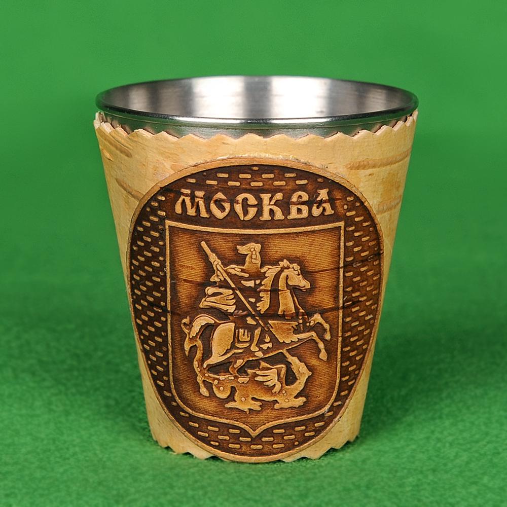Стопка (металл) герб Москвы