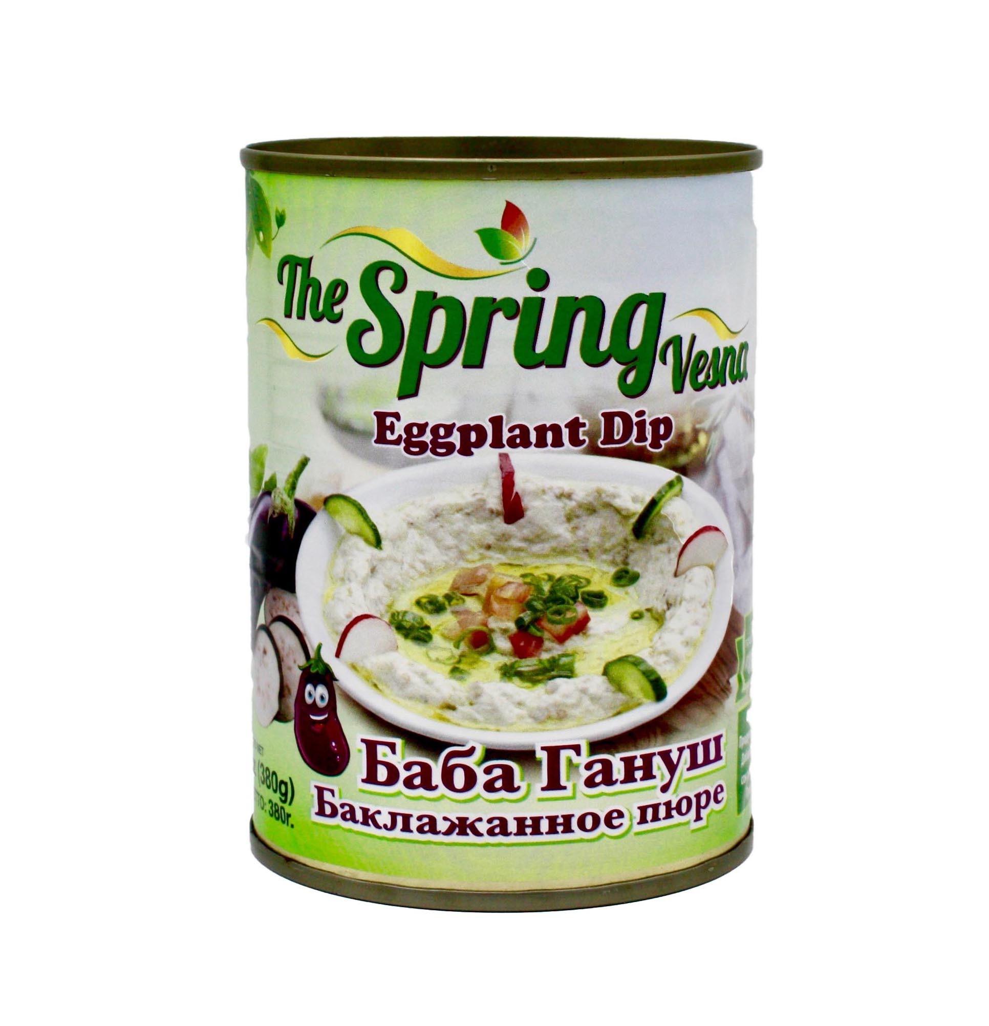 Готовые блюда, полуфабрикаты * Бабагануш The Spring, 380 г import_files_ac_acda60a95f4f11e8868b448a5b3752ae_0d3c61c35e8511e8a996484d7ecee297.jpg