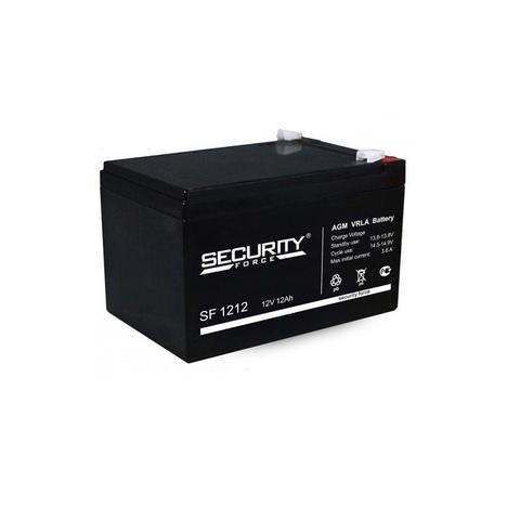 Аккумулятор для эхолота Security Force SF-1212, 12В, 12.0Ah