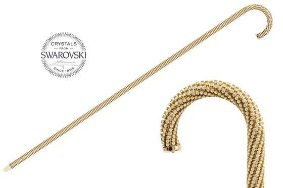 Трость мужская Pasotti Luxury Swarovski® Cane, Италия.