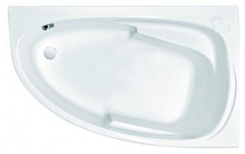 Ванна акриловая Cersanit JOANNA 160*95 ультра белый правая