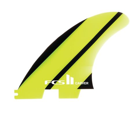 Плавники FCS II Carver Neo Glass Large Tri Retail Fins, компл. из трех, L