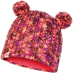 Вязаная шапка Buff Hat Knitted Polar Lera Camelia Pink