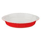 Форма для запекания 28х20 см красная, артикул 470-339, производитель - Agness