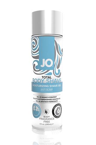 Гель для интимного бритья без раздражений JO TOTAL BODY - ANTI-BUMP - FRAGRANCE FREE без запаха - 24 фото