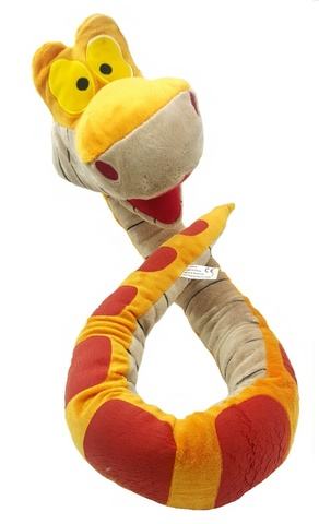 Маугли Дисней мягкая игрушка удав Каа