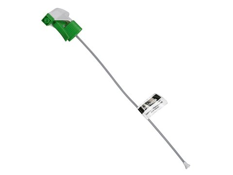 GRINDA регулируемая головка-пульверизатор для пластиковых бутылок, цвет зеленый/белый