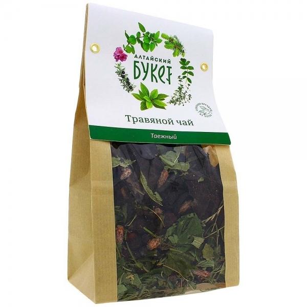 Чай травяной, Алтайский букет, Таежный, 80 г.