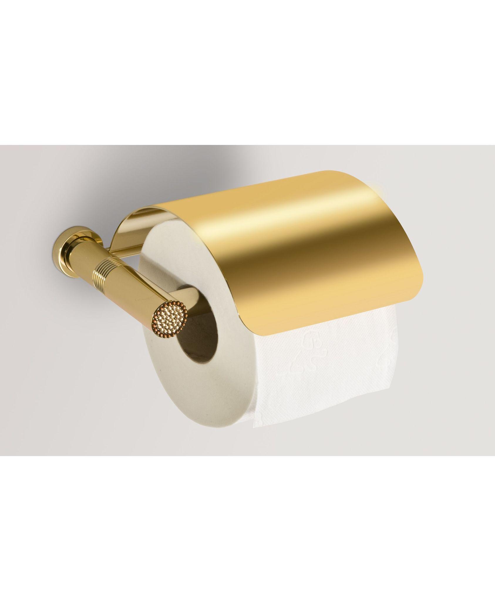 Держатель туалетной бумаги c крышкой 85551O Starlight от Windisch