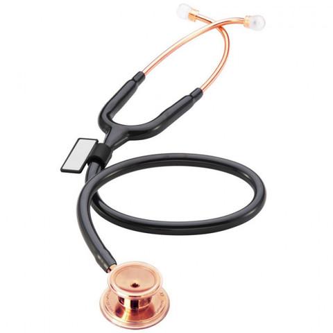 Стетоскоп MD One (черный/розовое золото)