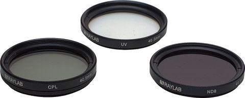 набор фильтров RAYLAB UV/CPL/ND8 40,5mm