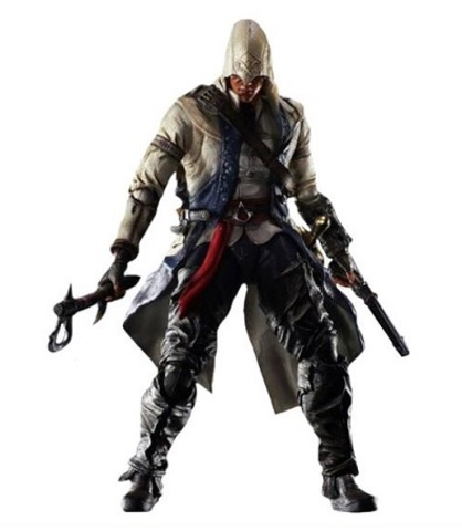 Assassins Creed III Play Arts Kai — Connor Davenport