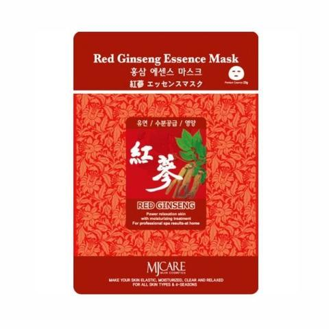 Листовая маска с женьшенем Mijin Cosmetics Red Ginseng Essence Mask
