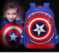 Рюкзак капитана Америки с дополнительной сумкой