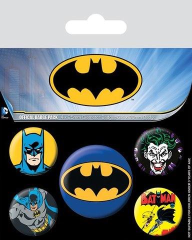 Набор значков Batman Comics