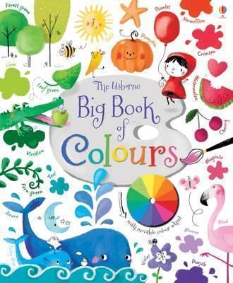 Kitab Big Book of Colours   Felicity Brooks