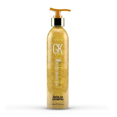 Global Keratin Лимитированная серия шампунь с частицами золота Gold Shampoo