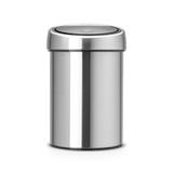 Ведро для мусора TOUCH BIN (3л), артикул 363986, производитель - Brabantia