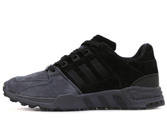 Кроссовки Мужские ADIDAS Equipment Running Support 93 Grey Black Suede