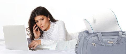 Подушка ортопедическая TRELAX Respecta Compact с эффектом памяти для путешествий П07