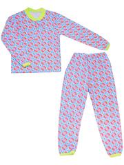 642-3 пижама детская, синяя