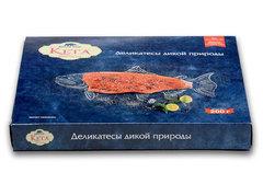 Дальневосточный лосось с/с, нарезка, 200г